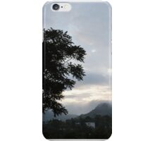 Fog and Palm iPhone Case/Skin