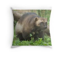 Wolverine ho! Throw Pillow