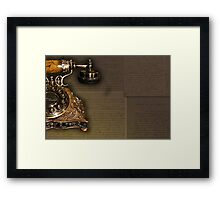 Faded Love Framed Print