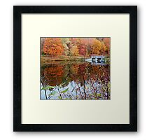 Mill Creek Bridge Framed Print