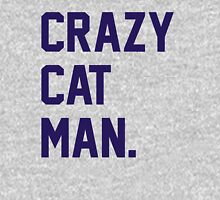 Crazy Cat Man Unisex T-Shirt