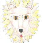 lion head by inkylady