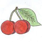 cherries by inkylady