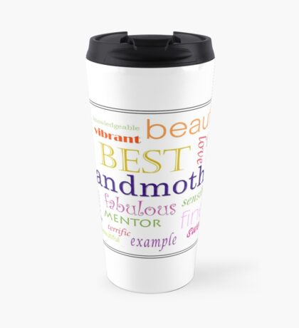 Grandmother's Day Travel Mug