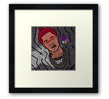 The Dark Hado Framed Print