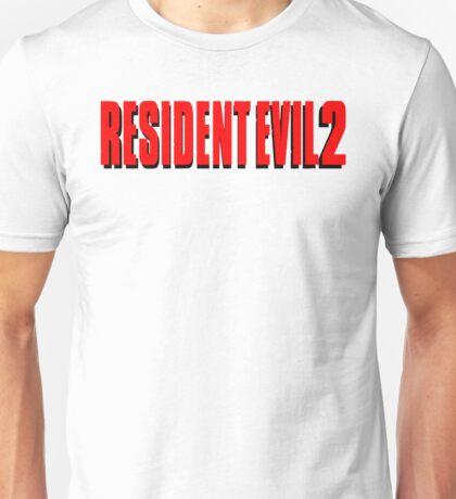 Resident Evil 2, Red Logo Unisex T-Shirt