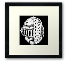 DAFT KNIGHT Framed Print