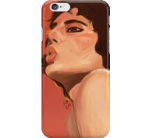Freddie Mercury painting iPhone Case/Skin