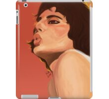 Freddie Mercury painting iPad Case/Skin