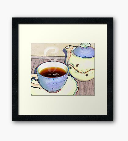 Tea For One Framed Print
