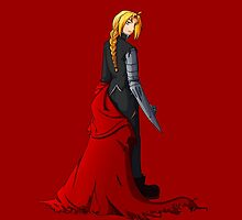 Edward Elric - Battle Ready by BarbaraJHarris