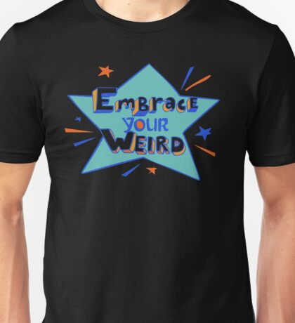 Felicia Day - Embrace Your Weird Apparel Unisex T-Shirt