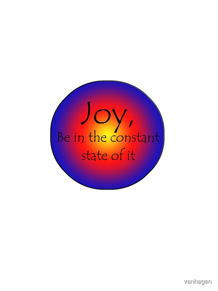 state of joy by vanhagen