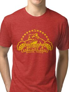 Zangief's Wrestling Club Tri-blend T-Shirt