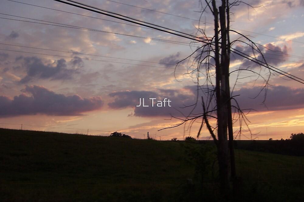 Setting sun by JLTaft