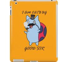 Gentlemen Catbug iPad Case/Skin