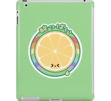 Cute Sour Lemon iPad Case/Skin