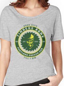 Rose City Till I Die Women's Relaxed Fit T-Shirt