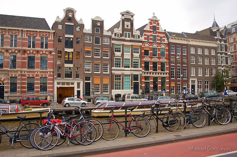 Colours of Amsterdam by Manuel Gonçalves