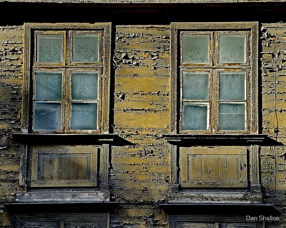 two windows by Dan Shalloe