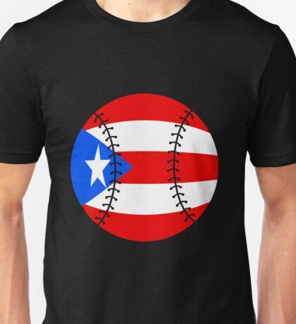 Puerto Rico Baseball Flag 2017 Unisex T-Shirt