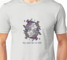 See what my cat did? T-Shirt