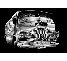Silver (bus) Surfer Photographic Print