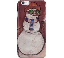 Steampunk Snowman iPhone Case/Skin