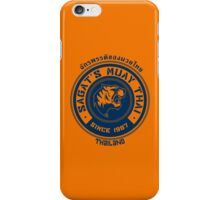 Sagat's Muay Thai iPhone Case/Skin