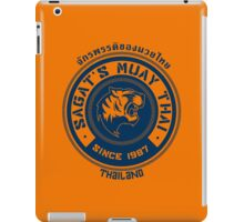 Sagat's Muay Thai iPad Case/Skin