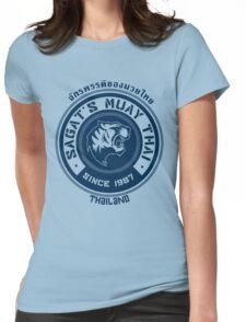 Sagat's Muay Thai Womens Fitted T-Shirt