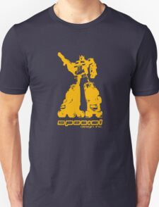 Roller Optimus (yellow) Unisex T-Shirt