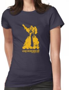 Roller Optimus (yellow) Womens Fitted T-Shirt