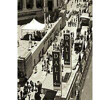 Dali Exhibition Photographic Print