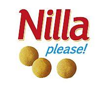 Nilla please! Photographic Print