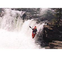 Kayak Leap 1 Photographic Print
