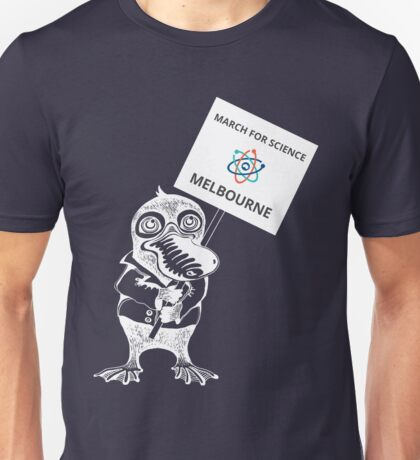 March for Science Canberra – Melbourne, white Unisex T-Shirt