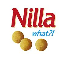 Nilla what Photographic Print