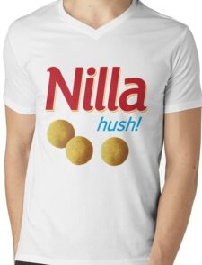Nilla hush Mens V-Neck T-Shirt
