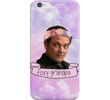 foxy grandpa iPhone Case/Skin