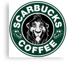 Scarbucks Coffee Canvas Print