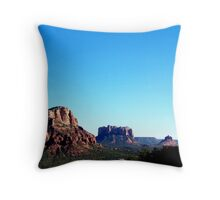 Cathedral Rock Throw Pillow
