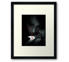 Me - Collaboration with CarnivalClothing Framed Print