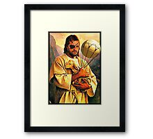 Big Boss and the Lamb Framed Print