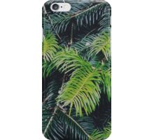 Christmas pine iPhone Case/Skin