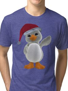 Holiday Penguin Tee Tri-blend T-Shirt