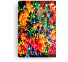 Christmas Colors Metal Print