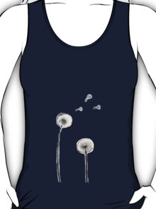 Dandelion flower ball blown in the wind T-Shirt