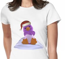 Its Penguin Time Womens Fitted T-Shirt