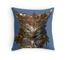 Mirror Mask Throw Pillow